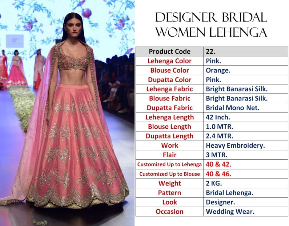 dfc2949705 Krishna Export Pressent bollywood bridal designer lehenga choli collection