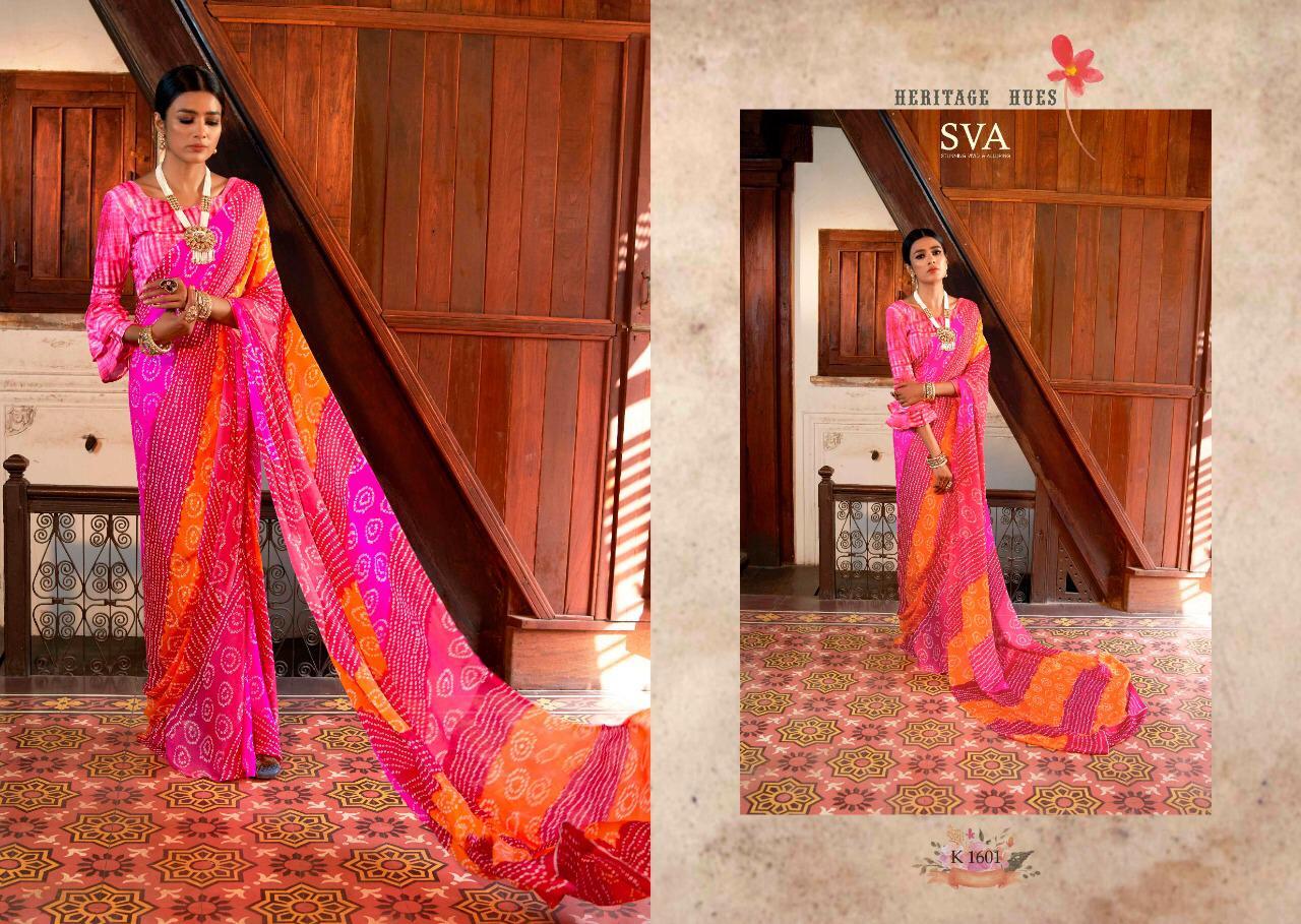 Surat Textile Hub sVA presents heritage Pure Weightless chiffon
