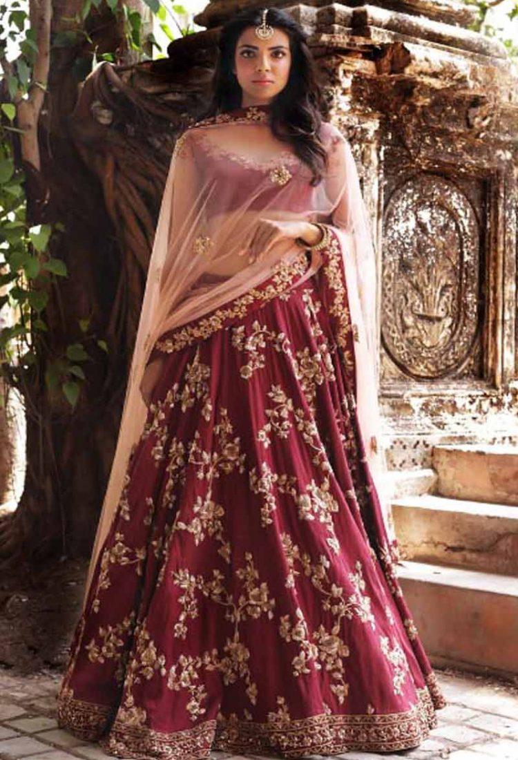 1311284b85 krishna export pressnet Indian Bollywood Style Wedding Wear Women Lehenga  Choli.