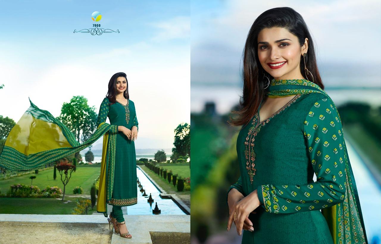 fd5bc6b643 Vinay fashion presents royal crepe 17 beautiful collection of salwar kameez.  DOWNLOAD ZIP