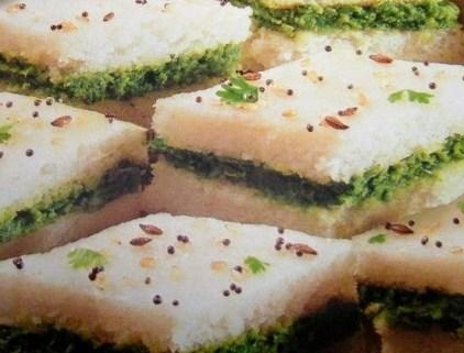 Sanwich dhokla