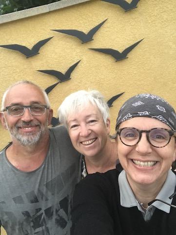 Martine et Philippe, accueil pélerin -Le Cergne