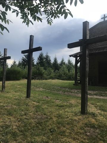 Calvaire et chapelle Arcinges