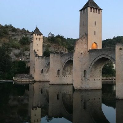 Cahors -pont Valentré - petit matin