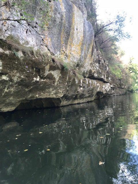 La vallée du Célé : Marcilhac -Cabrerets 19,3 km