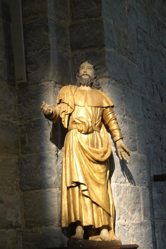 statue Saint Jacques le majeur