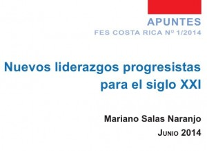 Nuevos liderazgos progresistas para el siglo XXI
