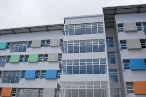 UCR inaugura nuevo edificio de residencias estudiantiles