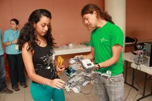 Todo listo para que inicie el RobotiFest UCR 2015 2