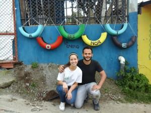 Estudiantes de la UCR y vecinos embellecen La Carpio