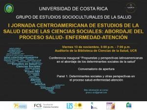 I Jornada Centroamericana de Estudios de la Salud desde las Ciencias Sociales