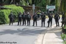 Marcha por la Tierra y el Agua en Zona Sur- la protesta es un derecho, reprimirla es un delito