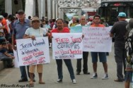 Marcha por la Tierra y el Agua en Zona Sur- la protesta es un derecho, reprimirla es un delito12