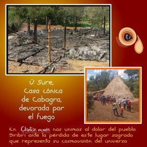 Campana de apoyo a Cabagra