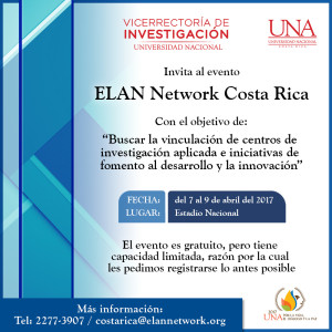 UNA ELAN Network Costa Rica