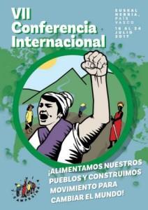 Afiche VII Conferencia Internacional VC
