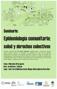 Seminario gratuito Epidemiologa comunitaria salud y derechos colectivos