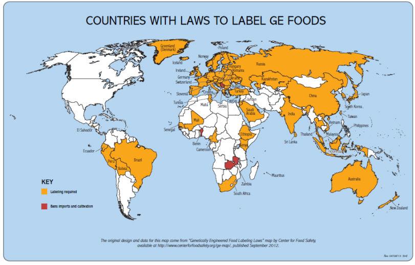 En el mes de la patria derecho a informacion sobre lo que comemos