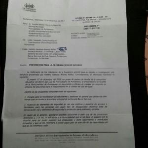 Chacarita solicita atencion de necesidades de infraestructura vial