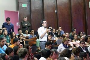 Debate Presidencial en la UNA Bach Edrian Rios Ramirez