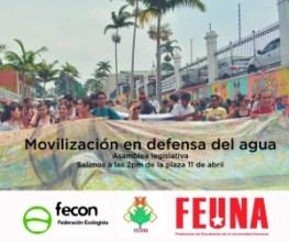 FECON se manifiesta ante proyecto de ley de recurso hidrico