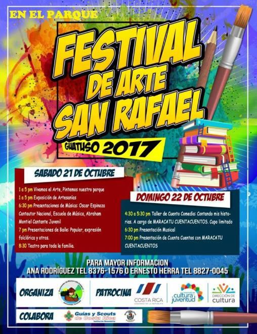 Festival de Arte San Rafael Guatuso 2017
