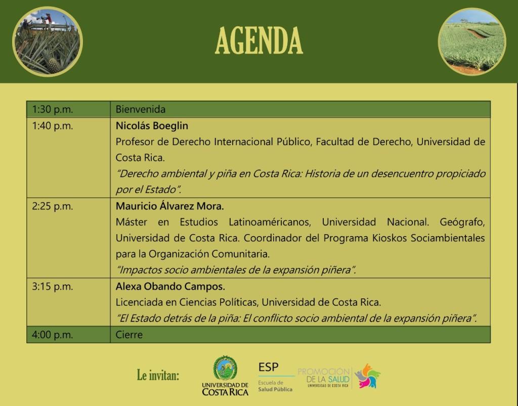 Foro Explotacion pinera en Costa Rica2