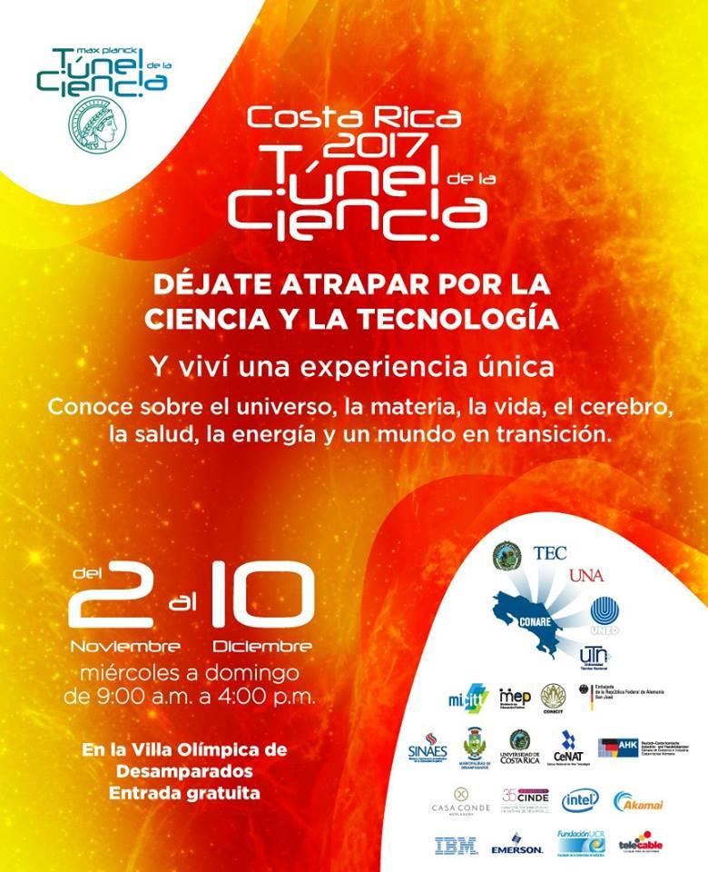 Tunel de la Ciencia Costa Rica 2017