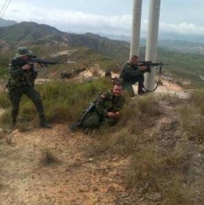 francotiradores Colombia