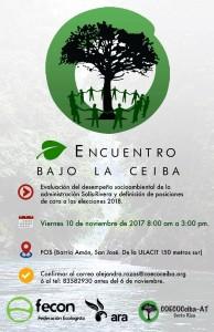 Encuentro Bajo La Ceiba