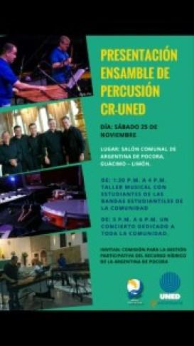 Presentacion Ensamble de Percusion CR