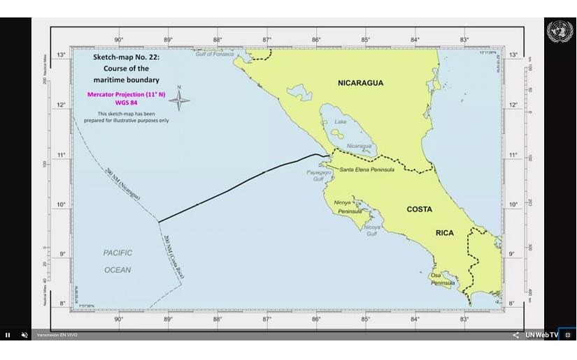 Costa Rica Nicaragua apuntes sobre la delimitacion maritima decidida por la Corte Internacional de Justicia2