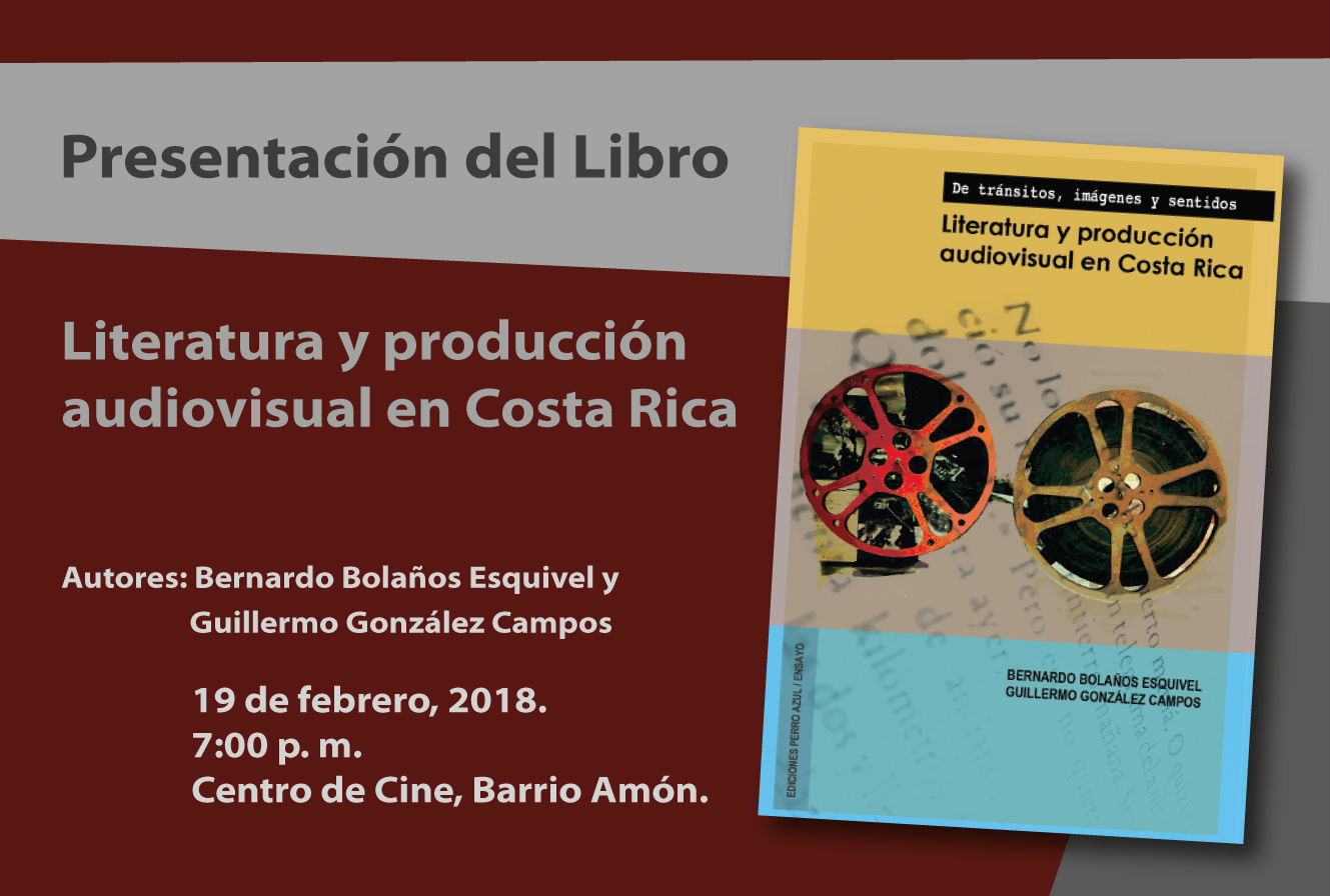 Invitacion Libro Cine Bernardo Bolanos