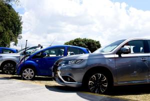UCR recibe donacion de 60 vehiculos electricos de parte del Gobierno de Japon