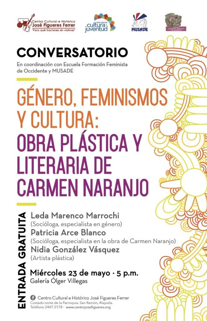 Conversatorio Genero feminismos y cultura