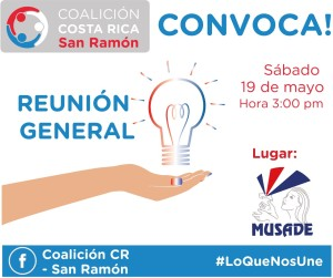 Reunion general Coalicion San Ramon