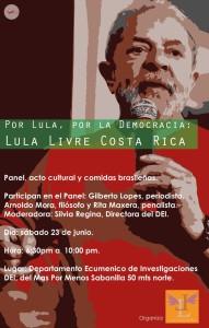 Por Lula Por la democracia
