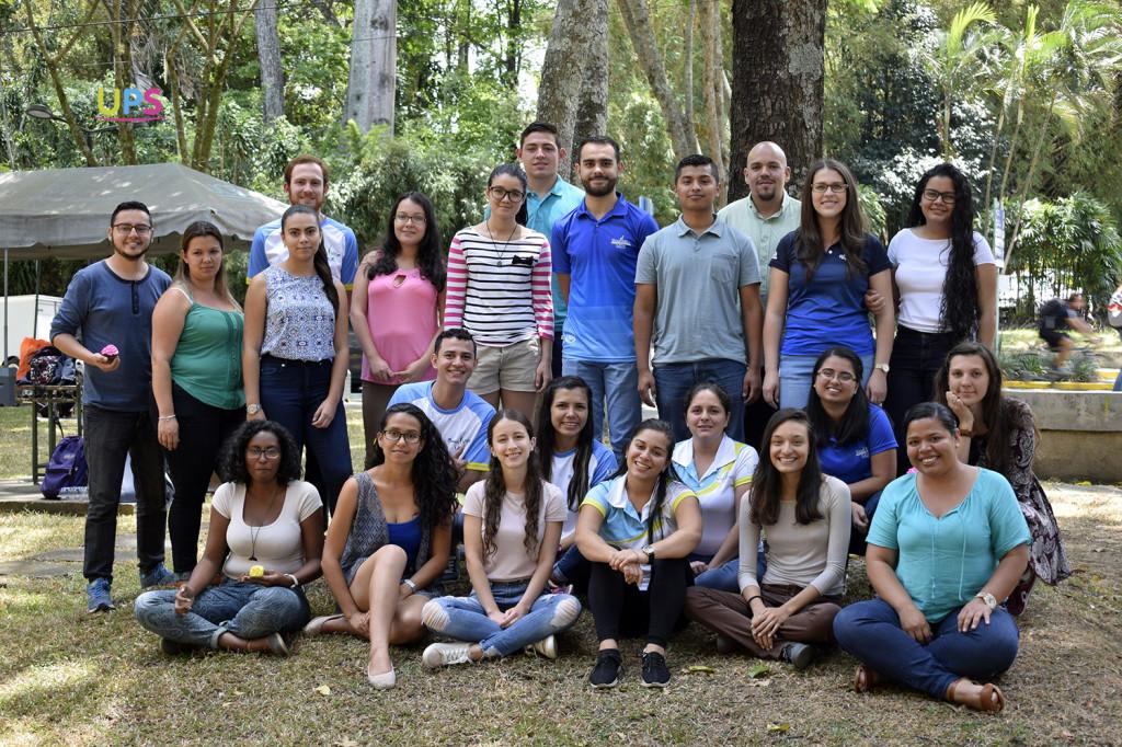 Parte del equipo de estudiantes gestores en salud: Bonus Vitae. (Foto: Pablo Molina).