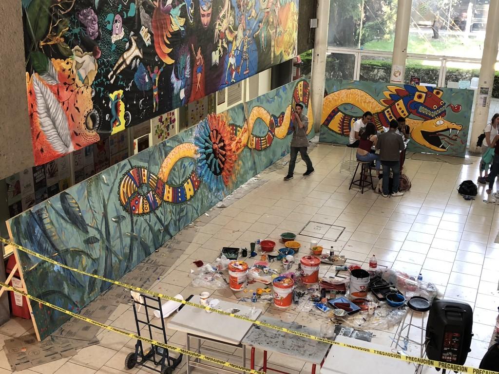 UCR Estudiantes y docentes de la Escuela de Artes Plasticas llevan su Accion Social a Mexico2
