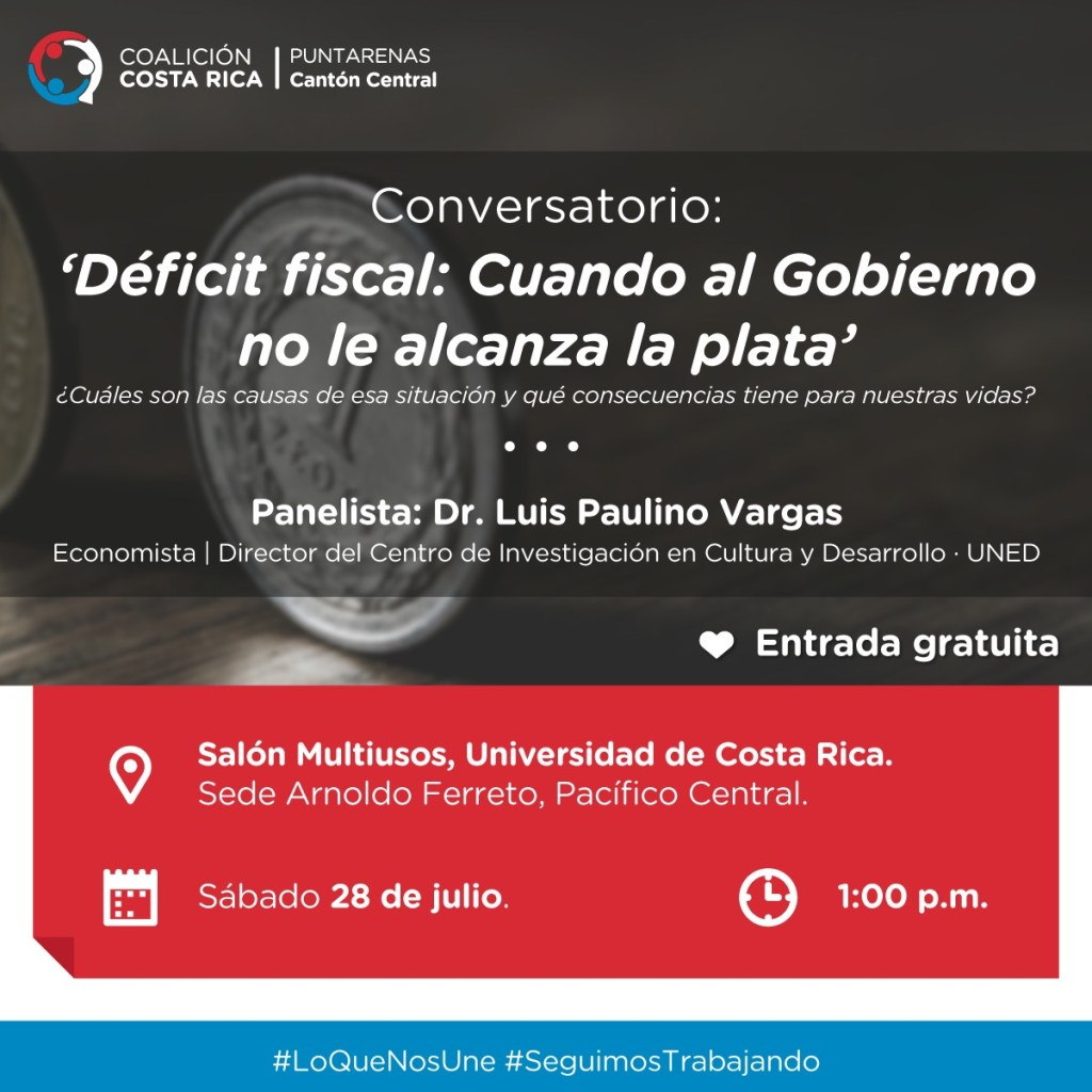 Conversatorio Deficit fiscal Cuando al Gobierno no le alcanza la plaza