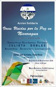 Accion Solidaria Voces Unidas por la Paz en Nicaragua