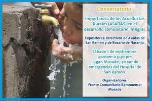 Conversatorio Importancia de los Acueductos Rurales
