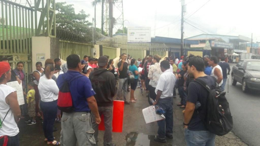 Coordinadora Campesina se moviliza por escrituras caminos y agua2
