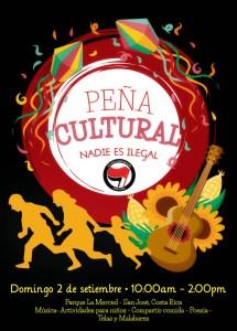 Pena Cultural Nadie es Ilegal