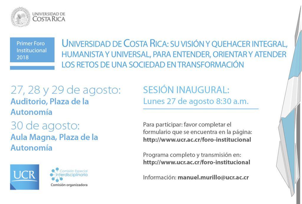 UCR La Universidad humanista se examina y alista para atender el futuro2