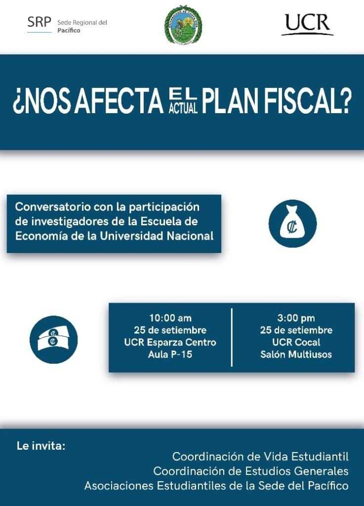 En Sede del Pacifico UCR reflexionan sobre tema fiscal