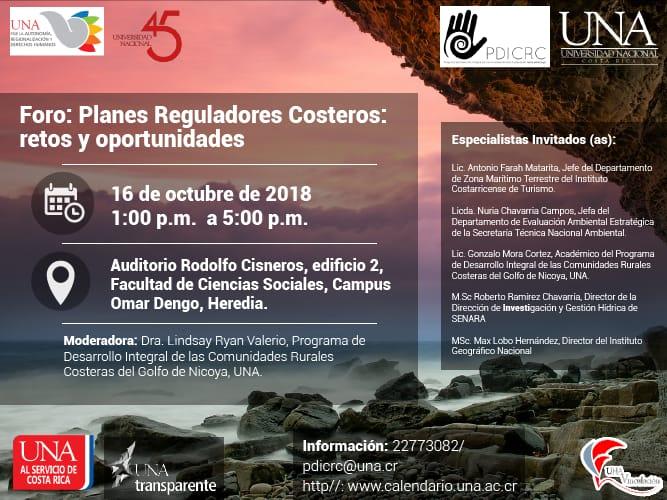 Foro Planes Reguladores Costeros retos y oportunidades