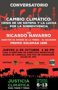 Crisis Sistemica y Cambio Climatico