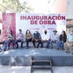 INAUGURA AGUSTÍN ALONSO CALLE NICOLÁS QUINTANA