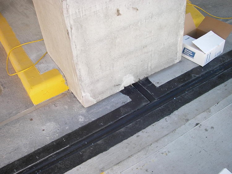 Interior Floor Sealant Expansion Joints
